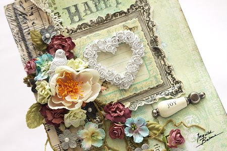 Happy birthday card details front 664 wm- ingvild bolme - prima - shabby chic - handmade - scrapbook - shabby chic treasures