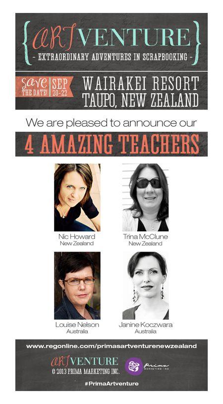 NZ Prima ArtVenture Teachers