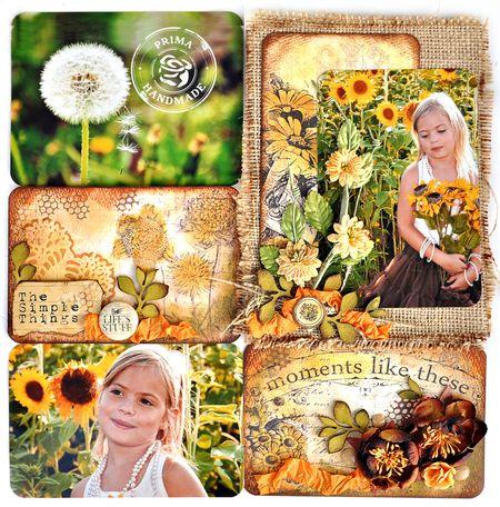 Everyday Paintables Sunflower jennifer 1100 TM