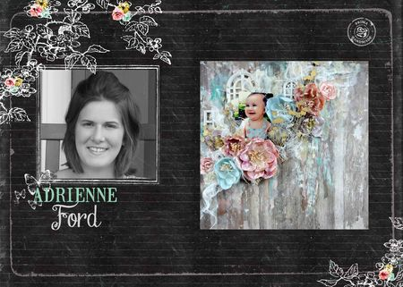 Adrienne collage