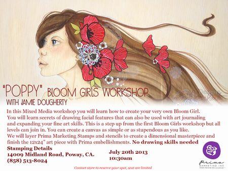 Poppy Workshop