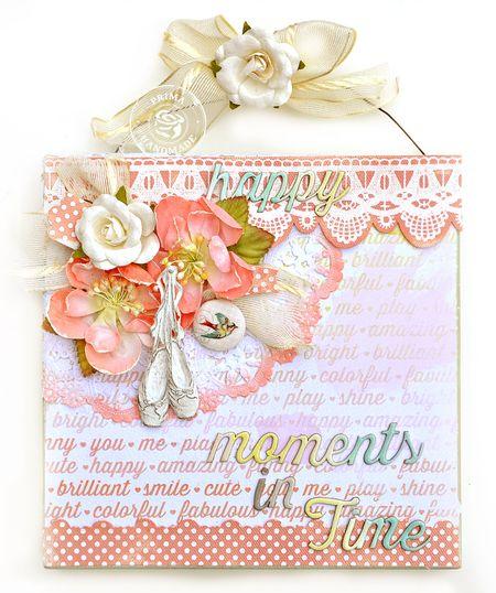 Jennifer Prima Pink Paislee Colorwash  hanging TM