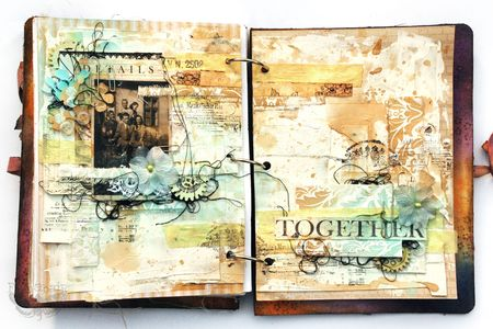 Together journal page