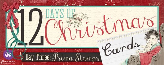 Day 3 Prima Stamps