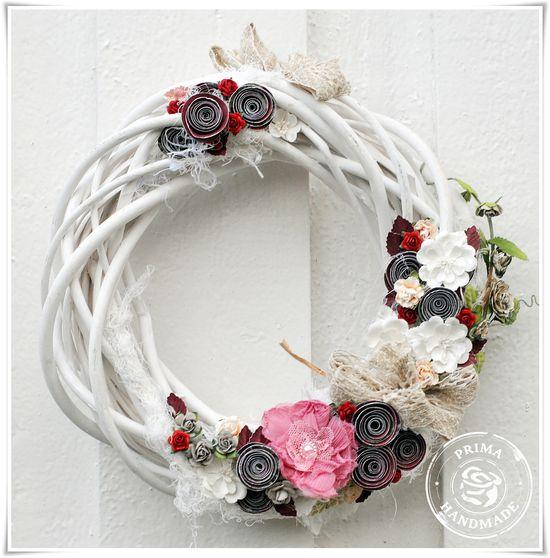 Flowers kene wreath