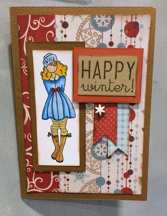 Julie nutting card