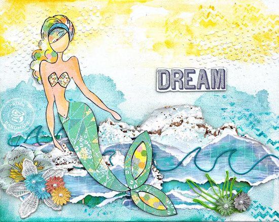 Julie mermaid canvas jennifer