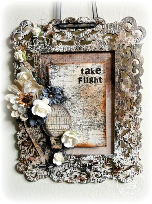 Flowers adrienne frame