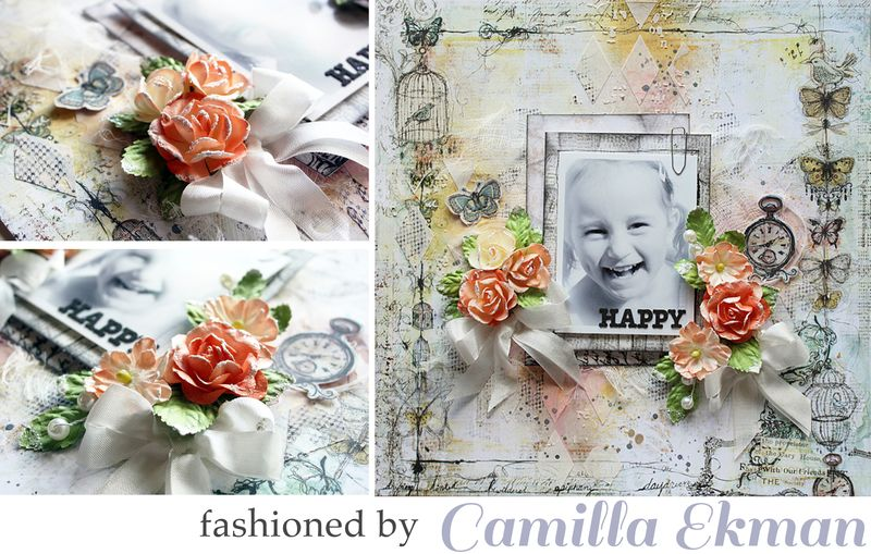 Flowers camilla layout