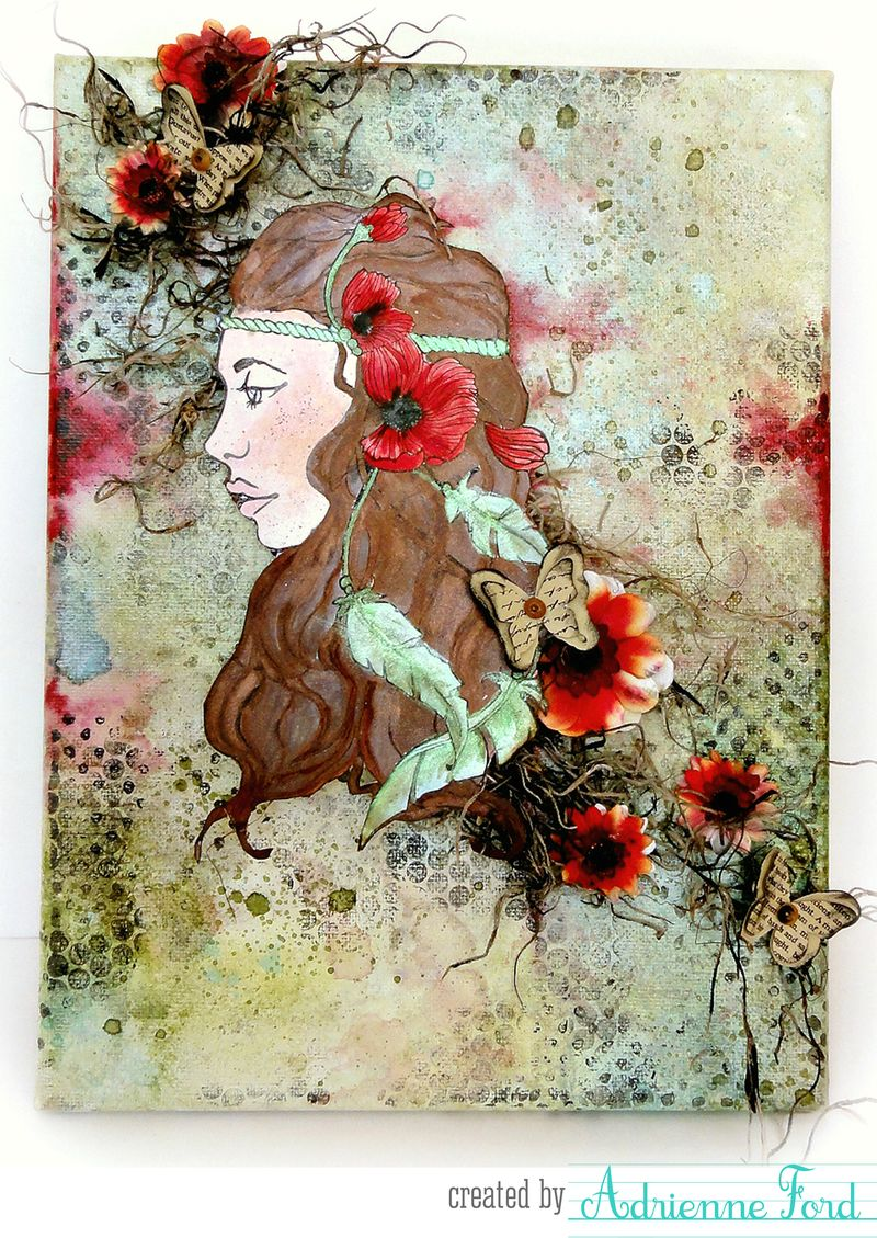 Bloom adrienne canvas