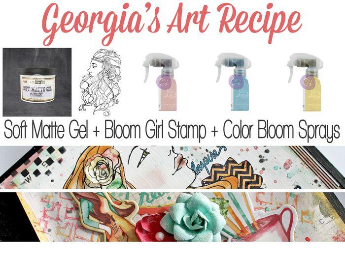 Art recipe bloomgirl georgia
