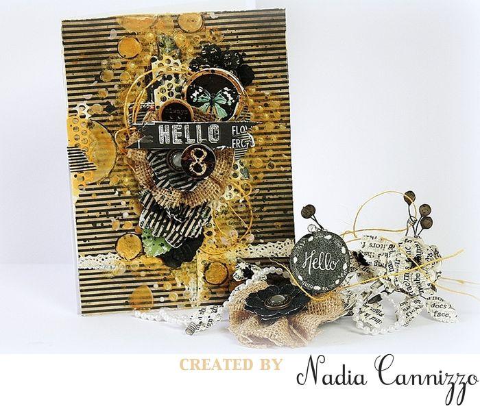 Forever green nadia card