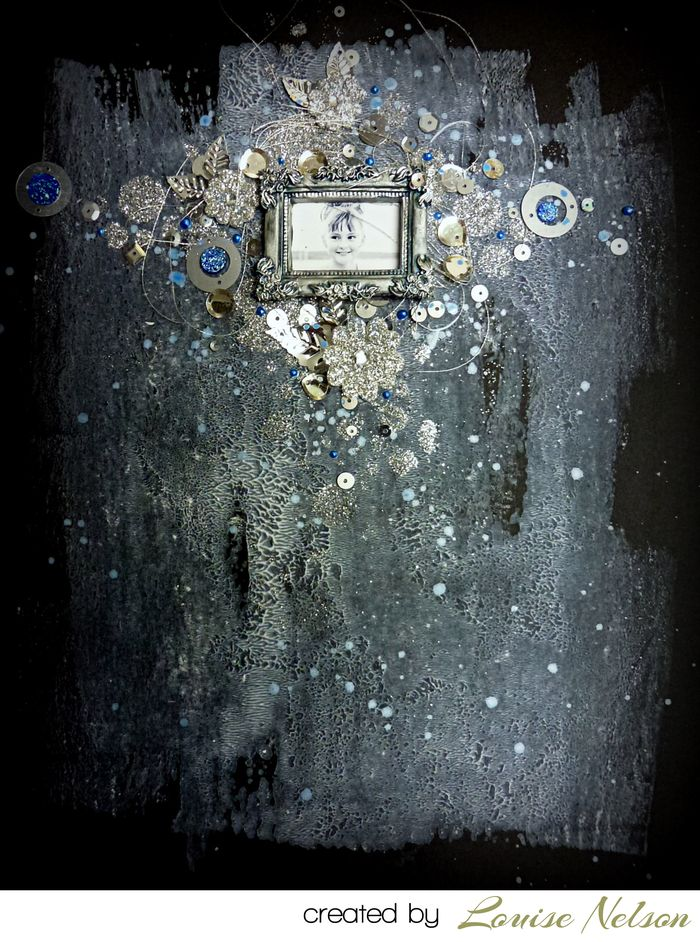 Art extravagance glitter louiseloblack