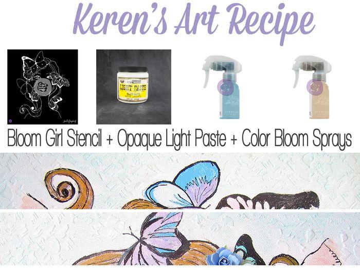 Art recipe keren bloom