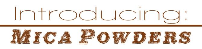 Mica-powders