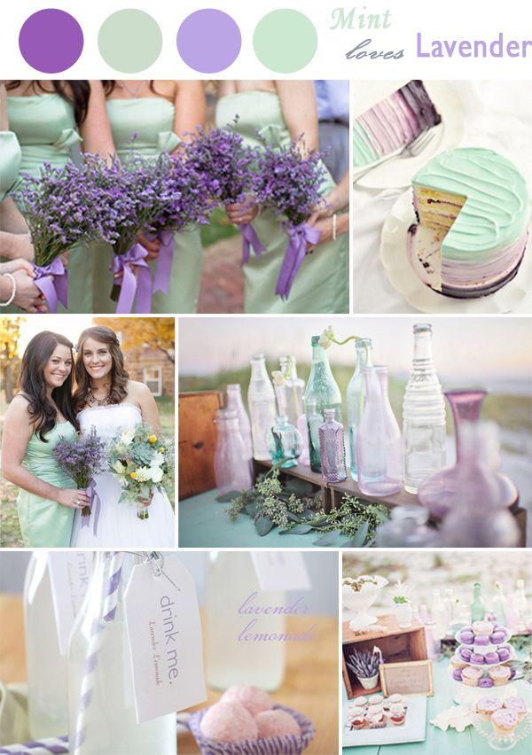 Color lavendarmint