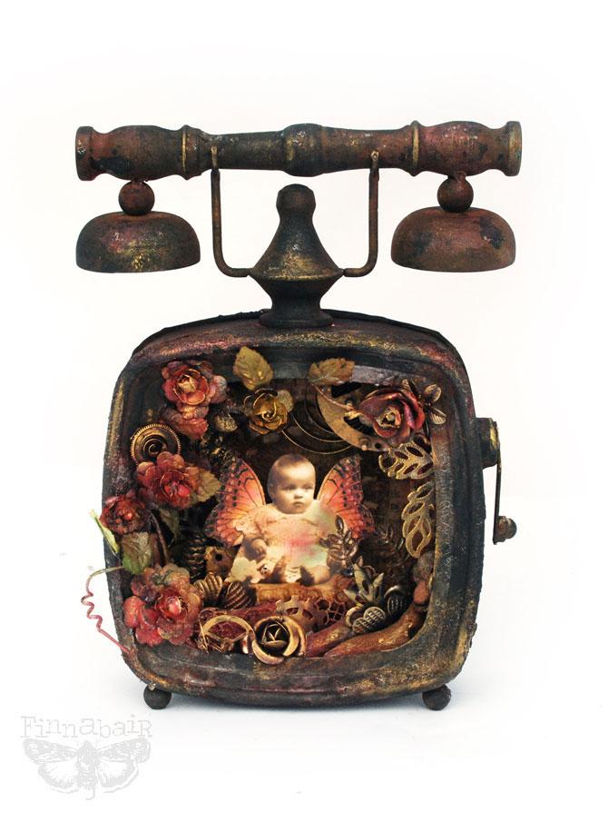 Altered telephone