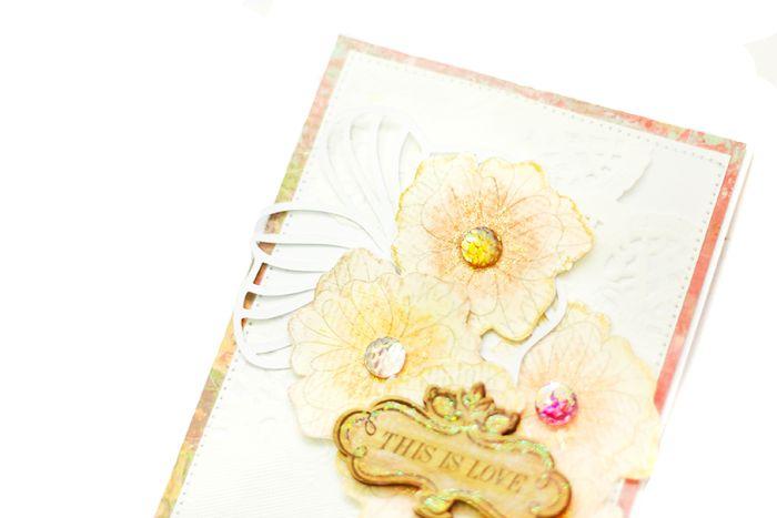 Watercolor card jessy