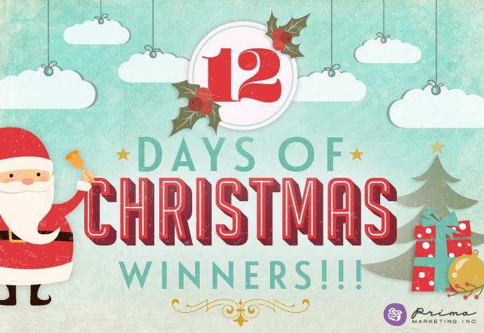 12 DAYS OF CHRISTMAS_winners