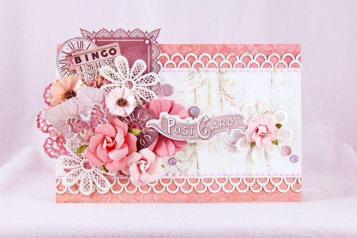 Feb pink card robin