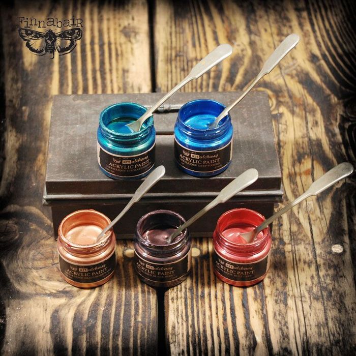 Mid alchemy paints