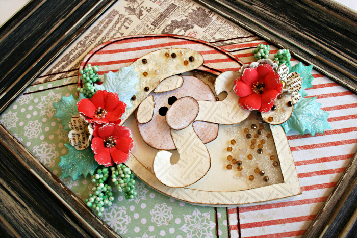 Sweet Peppermint Paper Pieced Santa_Robbie Herring_close 1