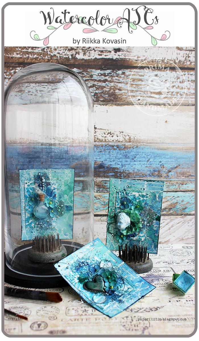 8X10 Prima Marketing 585679 DIY Watercolor Canvas Panel