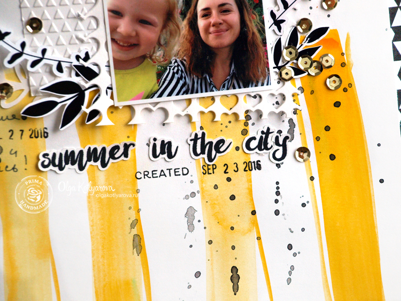 Summer in the city kotlyarova scrapbookin layout 2