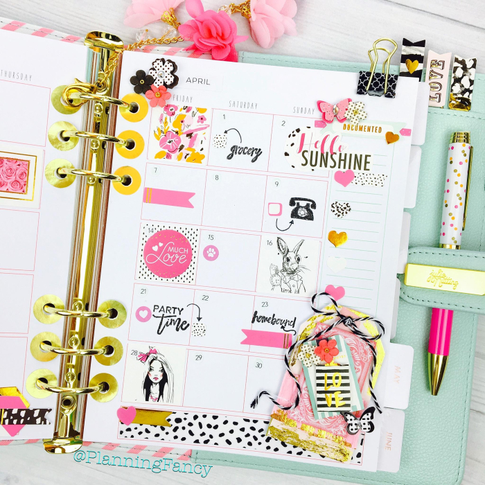 Planner april patty shin