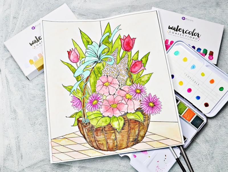 Joanne-Bain_Prima_Watercolour-page_Garden-Gate_Sandi-Pirrelli