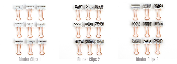 MPP Binder Clips