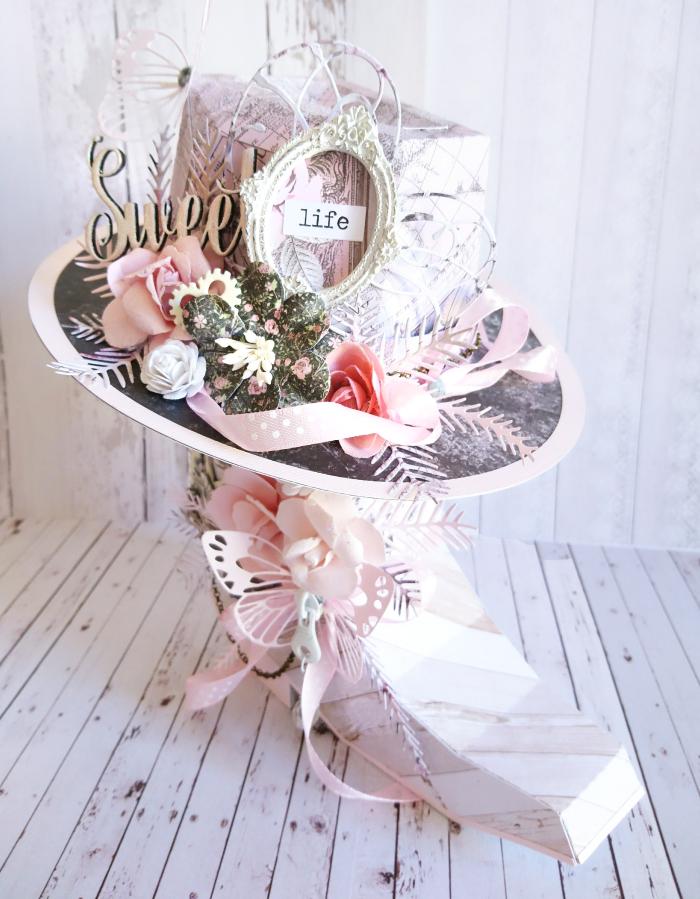 9Prima Marketing GD Rose Quartz OTP (Cowgirl Boot & Hat)