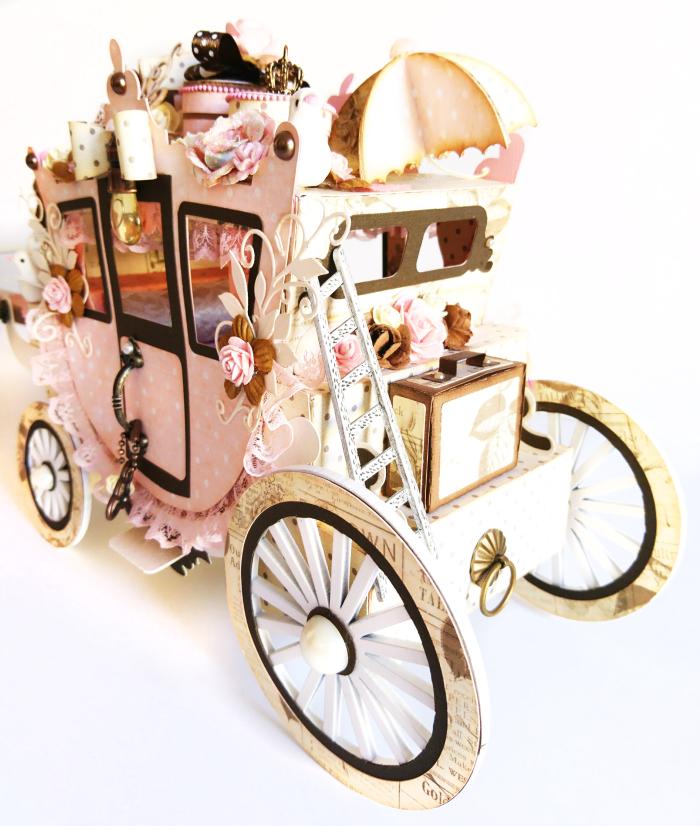 14Prima Marketing Something Blue Princess Carriage & JN Doll Aurora