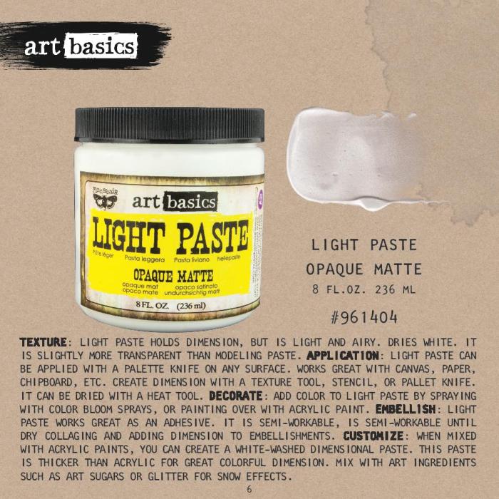 Light paste
