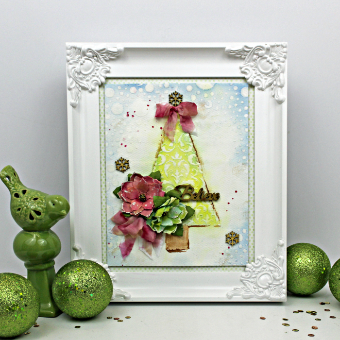 Watercolor Christmas Tree_12-21-17_Robbie Herring
