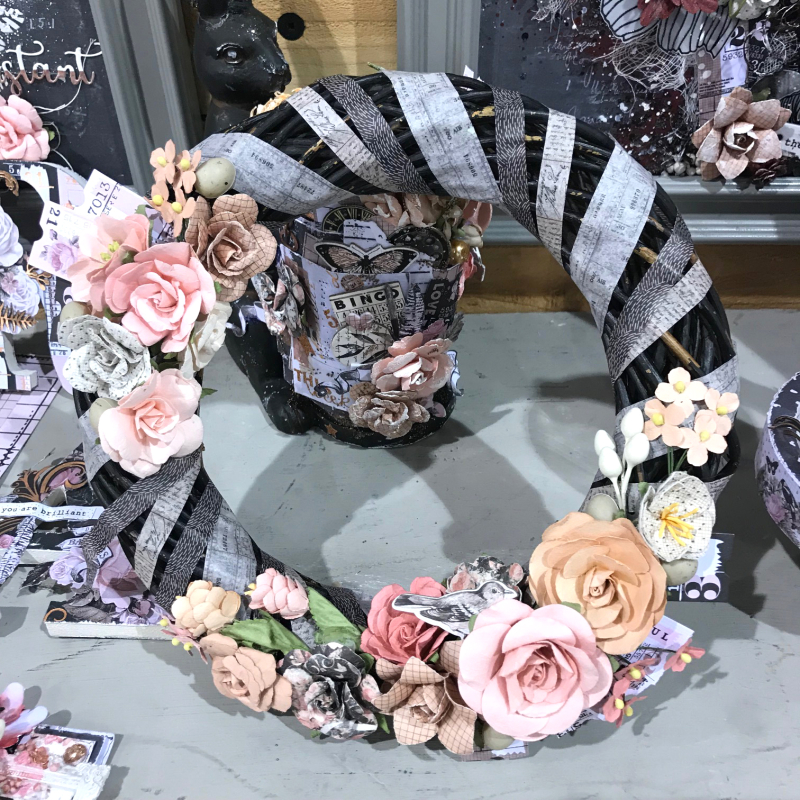 Amelia rose wreath