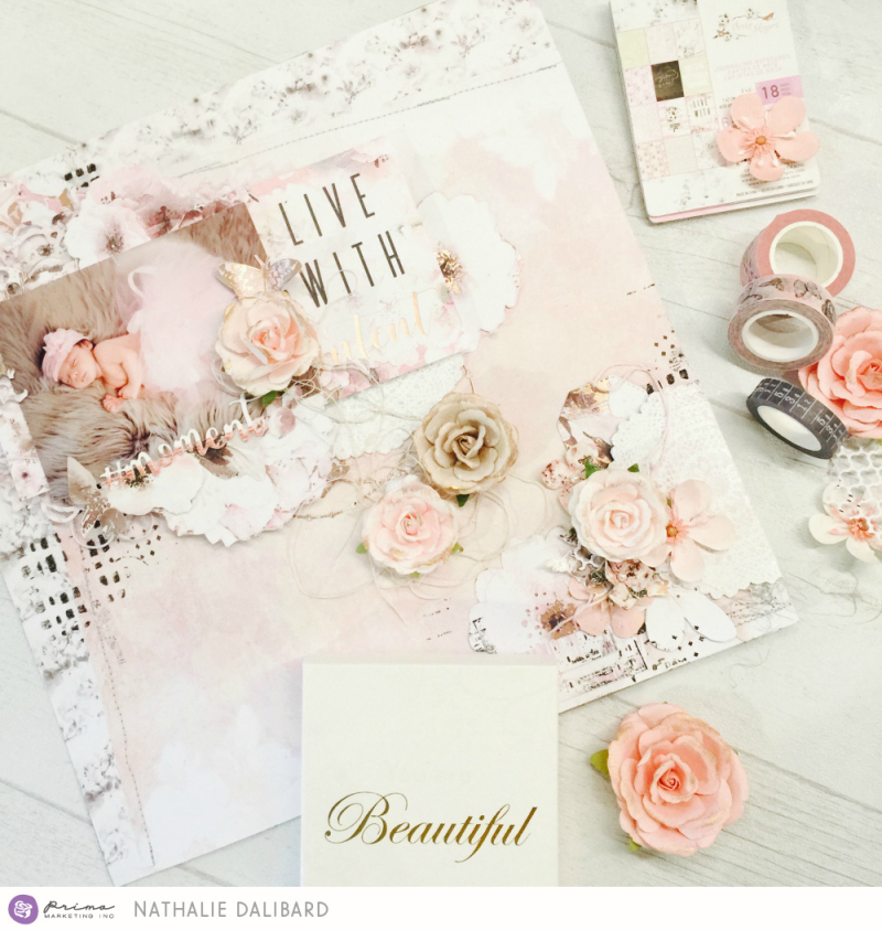 Cherry Blossom Layout Moment 2