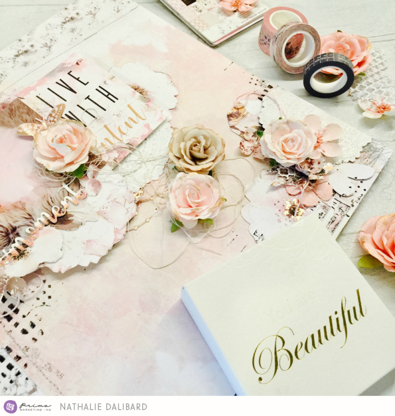 Cherry Blossom Layout Moment 3