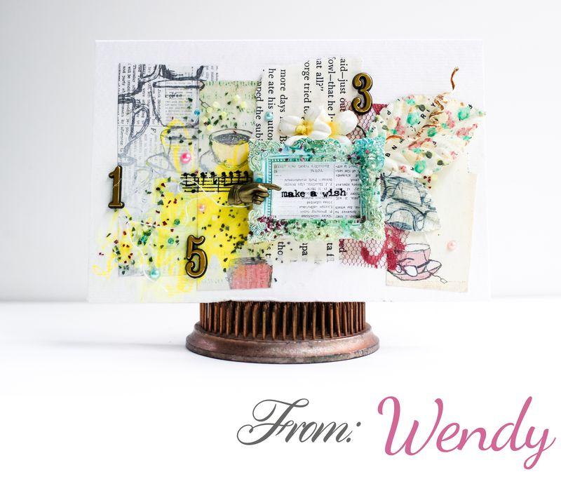 Card pom wendy