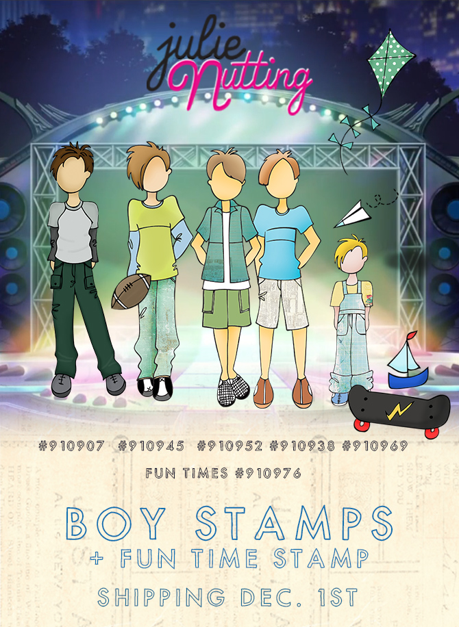 JN boy stamps