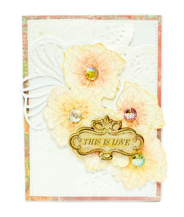 Watercolor jessycard