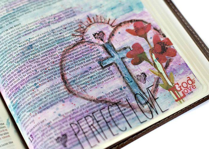Tiffany Bible page1