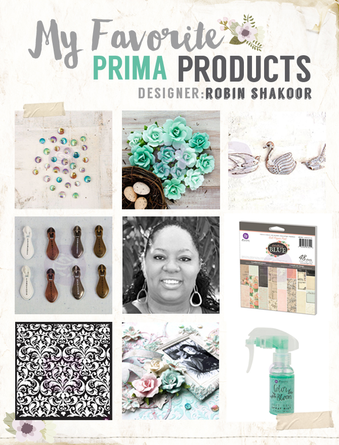 My favorite prima products robin copy