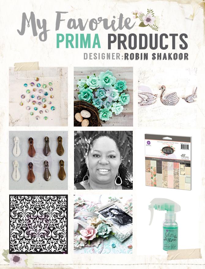 My favorite prima products robin copy