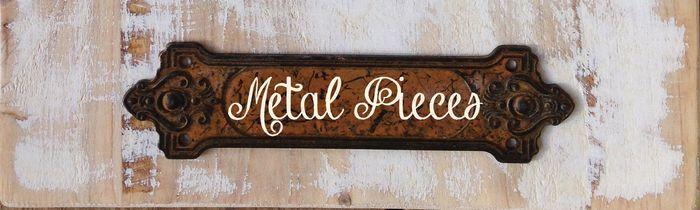 Header metal pieces