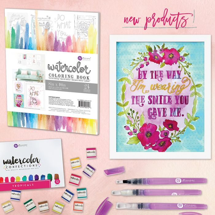 Presenting: Watercolor FUN! - Prima