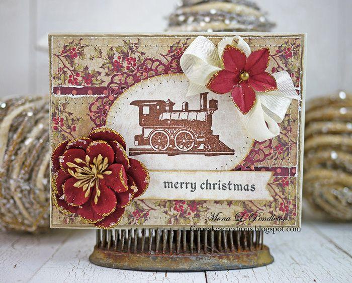 Christmas card Mona