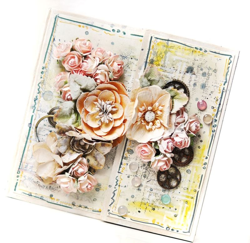 Ve flowers book ania cover