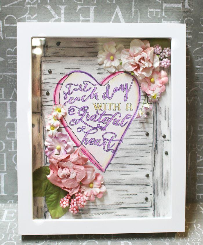 Feb patti heart frame