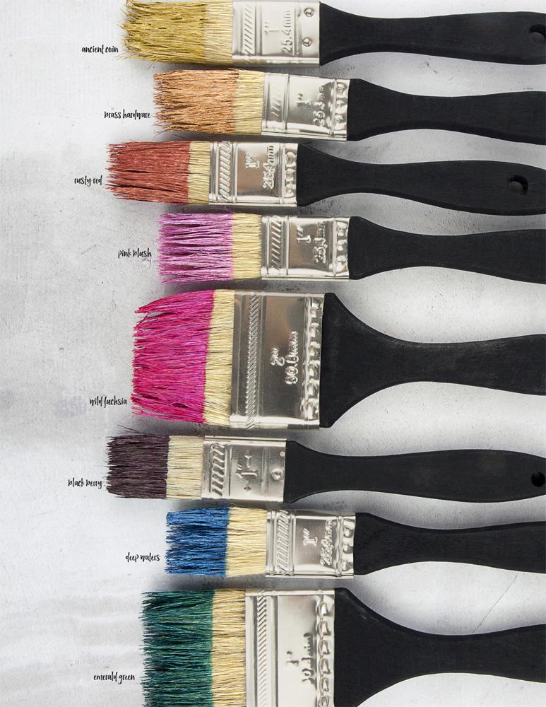 Finn mid acrylic paints